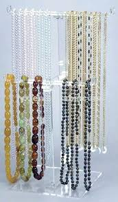 long necklace display acrylic long necklace stand long necklace display  bust .