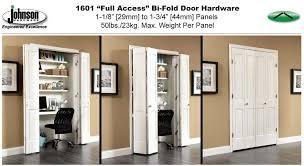 1601 series bi folding door hardware
