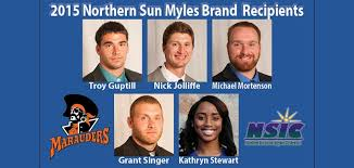 Five Marauders Named NSIC Myles Brand All-Academic with Distinction Award  Winners - University of Mary Athletics