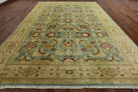 marvelous x hand knotted blue persian wool area rug h weavers rugs to in carved wildlife mission style