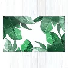 tropical rug tropical palm print rug tropical rugs 5x7 tropical rug
