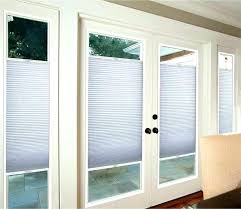 shades for patio door cellular blinds for patio doors french door light filtering cellular roman shades