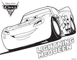 Small Picture Cars 3 Lightning McQueen Coloring Page Get Coloring Pages