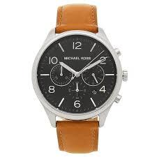 michael kors watch men michael kors mk8661 brown black