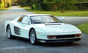 The 512tr responded far better when driven hard, and the f512m was finer still. Ferrari Testarossa From Miami Vice Found On Ebay