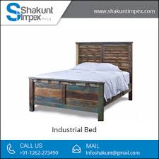 Image Interior Antique And Classic Look Solid Wood Industrial Bed From Leading Furniture Supplier Decoist Antique And Classic Look Solid Wood Industrial Bed From Leading