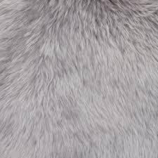 natures collection new zealand sheepskin rug light grey