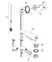 order replacement parts for american standard 1583 bathtub drain replacement parts