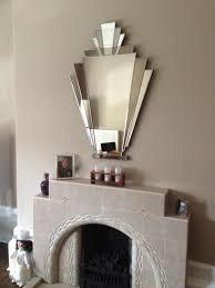 our babushka art deco mirror over a beautiful original fireplace customer s comments i