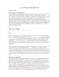 Job Offer Letter For An Internship Top Essay Writing