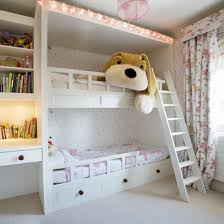 beds for girls room. Interesting Room Girls Bedroom Idea Girlsu0027 Room Bunk Beds With Large Soft Toy RCRDNYK Throughout Beds For Girls Room K