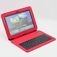 supernight samsung galaxy note 10 1 n8000 n8010 gt n8013 bluetooth keyboard leather case