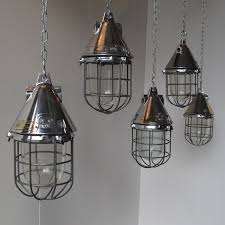 cage lighting pendants. we have a large quantity of these fantastic refurbished aluminum and steel industrial pendant lights salvaged cage lighting pendants e