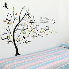 tree vinyl wall art family tree wall stickers tree silhouette vinyl wall art decal