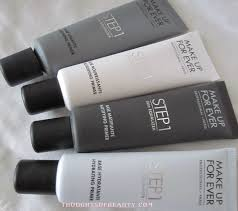 make up for ever face primers