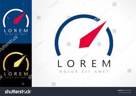 Designer Brand With Compass Logo Compass Logo Stock Vector 394274881 Shutterstock
