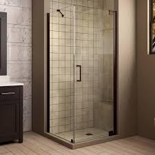 Shower Impressive Cornerr Stall Kits Photos Design 48x48 30x30