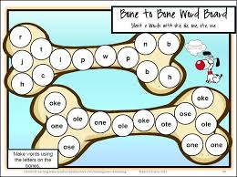 Phonics Games: Silent e Board Games | Board, Gaming and Phonics