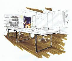 Impressive Interior Designers Drawings Michelle Hybrid For Design Throughout
