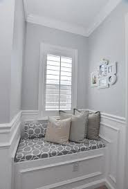 Small window seat with contemporary design