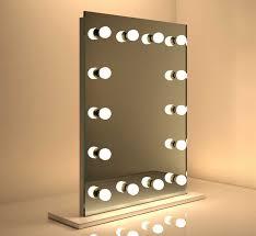 make up spiegel met dimbare lampen 60 x 80 cm