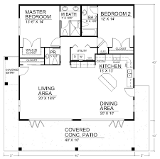 Small Picture I like the open floor plan but it would need another bedroom and a