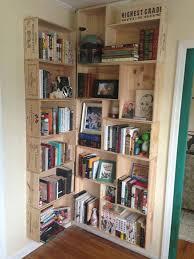 wine crate furniture. corner wine crates bookcase crate furniture g