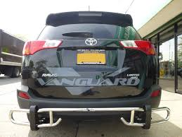 Rear Bumper Guard Double Tube S/S (Cut Off Design) | Auto-Beauty ...