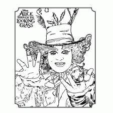 Leuk Voor Kids Alice Through The Looking Glass Kleurplaten