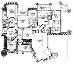 429 best floor plans images on pinterest home design, floor Medium House Plans Designs first floor plan of bungalow european house plan 97854 Simple Floor Plans Open House