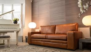Catchy Light Brown Leather Sofa with Light Tan Leather Couch 5 Ways