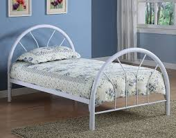 white twin bed. Metal Bed Frame White Twin