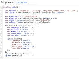 Bidding Sheets Automating Bidding With Google Sheets And Adwords Scripts Ppc Hero