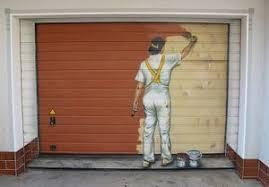aluminum garage doorTips To Paint An Aluminum Garage Door