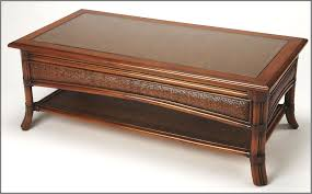 charming medium brown coffee table from butler coleman furniture vintage butler coffee table