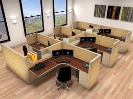 office cubicle lighting. 6x6 Cubicle Workstations From AIS - 6 Pack Cluster Office Lighting G