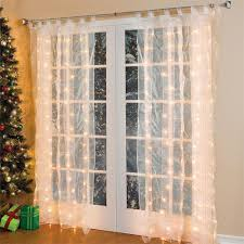 Chic And Creative Christmas Curtain Lights For Windows Outdoor Australia  Canada B Q