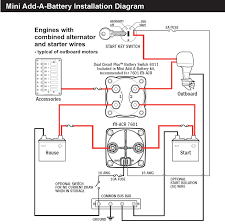blue sea 7601 marine vsr acr automatic charge relay 65 a 12v 24v three battery twin motor installation wiring schematic shown below