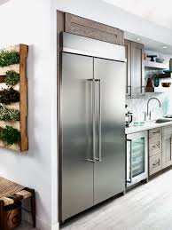 kitchenaid 30 0 cu ft built in side by side refrigerator kbsn608ess the brick