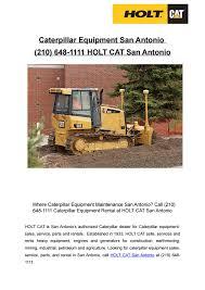 Caterpillar Equipment San Antonio (210) 648-1111 by HOLT CAT San Antonio -  issuu