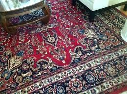 red persian rug runner
