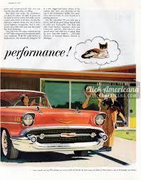 The dashing new 1957 Corvette & Bel Air Sport Coupe - Click Americana