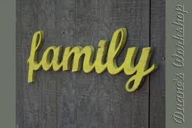 family sign diy wedding decoration wall hanging cottage wooden letters wooden sign home decor wood sign wall decor