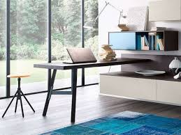Scrivania Angolo Moderna : Soggiorno moderno con scrivania avienix for