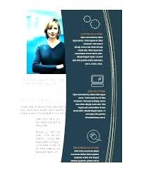 Information Leaflet Template Word Flyer Free Fold Brochure