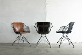 a new range of masculine style furniture home modern metal and leather dining chairs