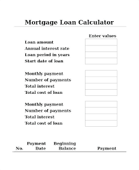 Mortgage Payment Calculator Excel Template Calculation Mortgage ...