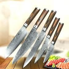 Set Couteau Cuisine Pochette De Couteau De Cuisine Elegant Set 5