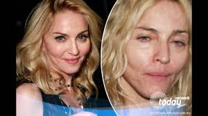 lady a without makeup yahoo