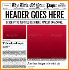 Free Newspaper Template Psd Newspaper Template 30 Best Newspaper Psd Templates With Regard To